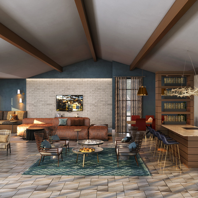The Braydon - Resident Lounge Area