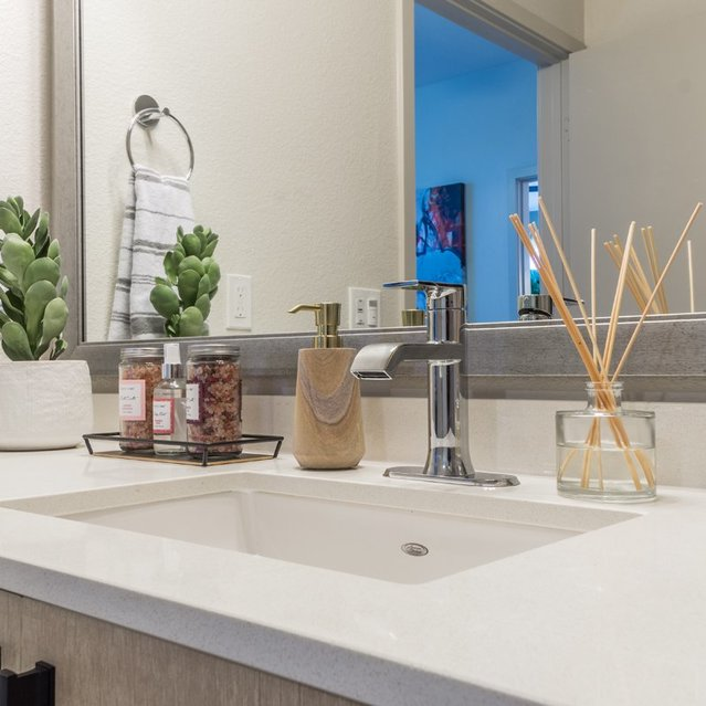 The Braydon - Stylish Modern Bathroom With Vanity