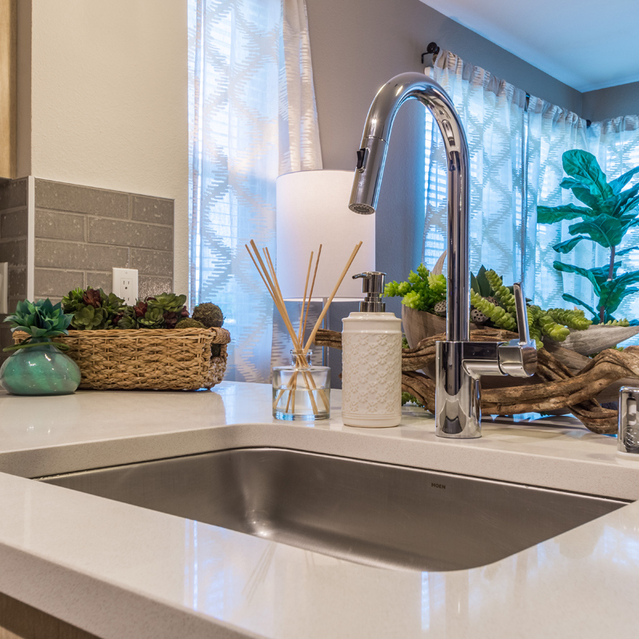 The Braydon - Fully Equipped Kitchen And Stylish  Sink