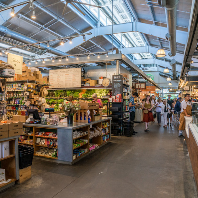 The Braydon - Ox Bow Market Interior