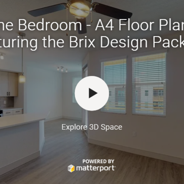 The Braydon - Spacious Interior Floorplan With Ceiling Fan